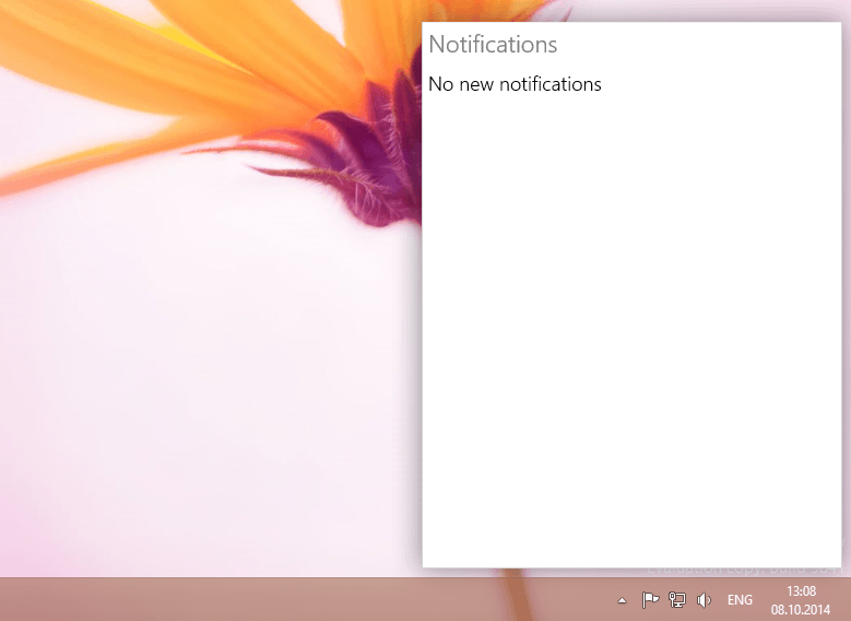 Notifications in Windows 10