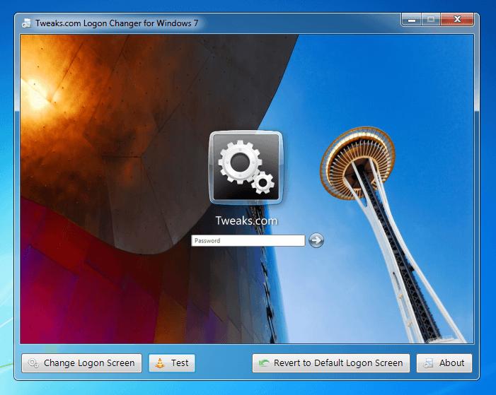 Как поменять картинку при загрузки windows 7