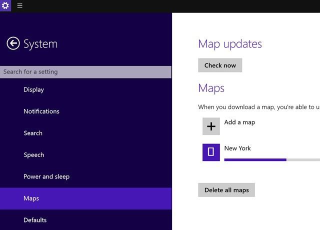 Offline Maps Windows 10