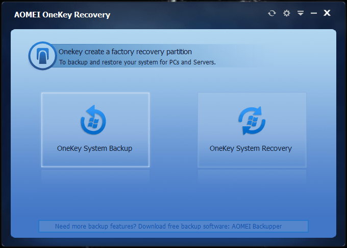 AOMEI-OneKey-Recovery-Free-Download-2