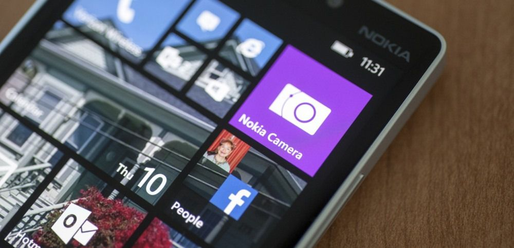WP8.1 Nokia Lumia