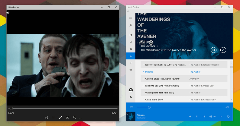 New Music and Video Apps for Windows 10