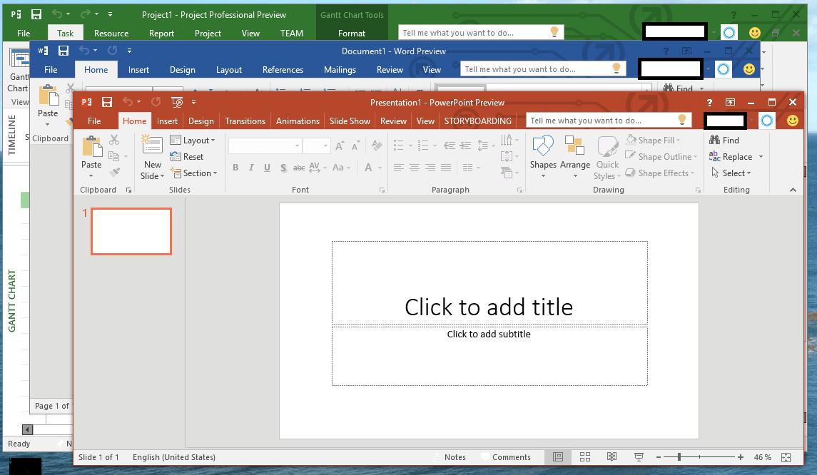 Office 2016 Windows
