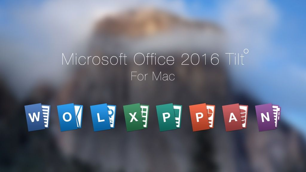 Office 2015 download mac