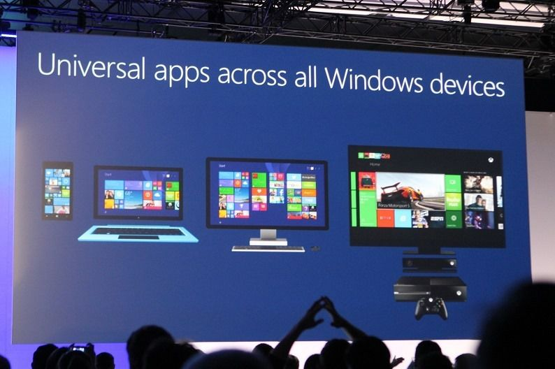 Universal apps Build 2014