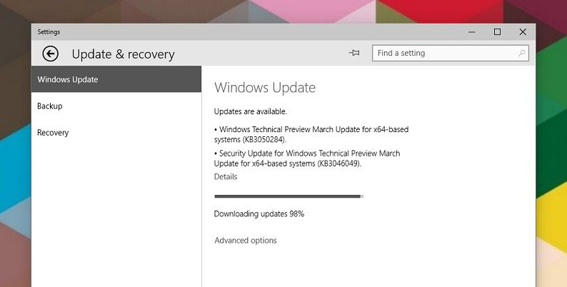 Windows 10 TP 10041