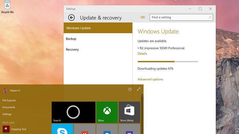 Windows 10 build 10049