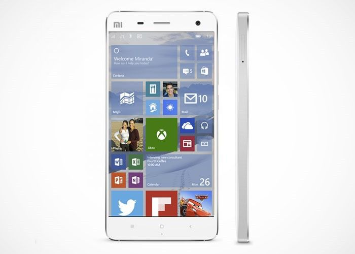 Xioami-Mi4-Windows-10-Phone