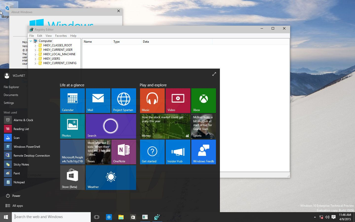 Build 10056 Windows 10