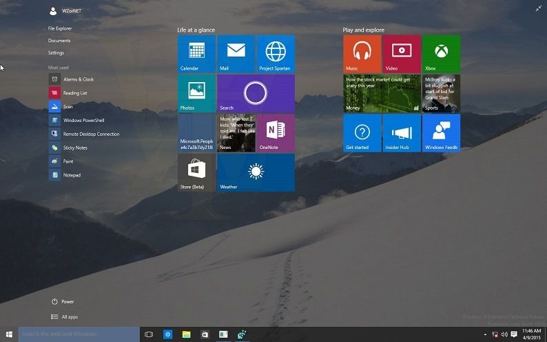 Windows 10 Build 10056