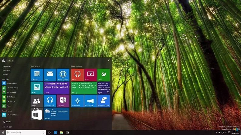 Build 10108 Windows 10 Insider Preview