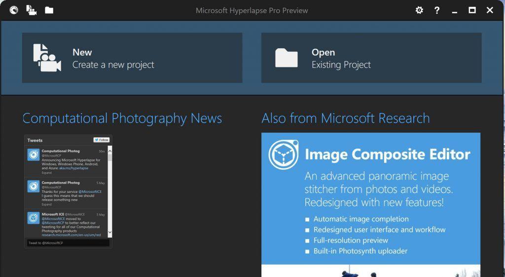 Hyperlaspse Pro Preview Windows