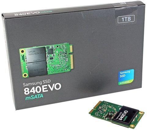 Samsung SSD 840 EVO mSATA 1TB