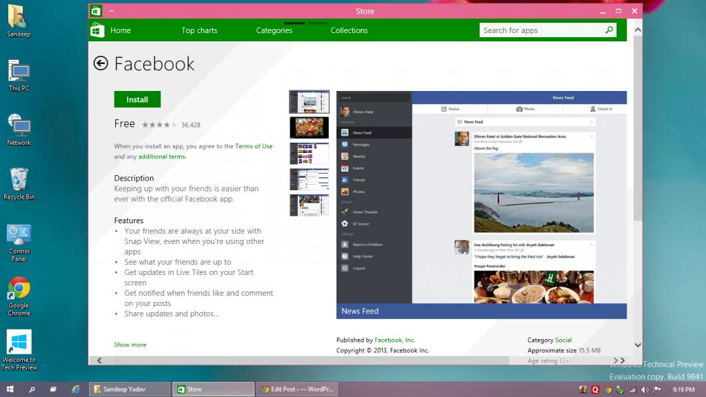 Windows Store Beta