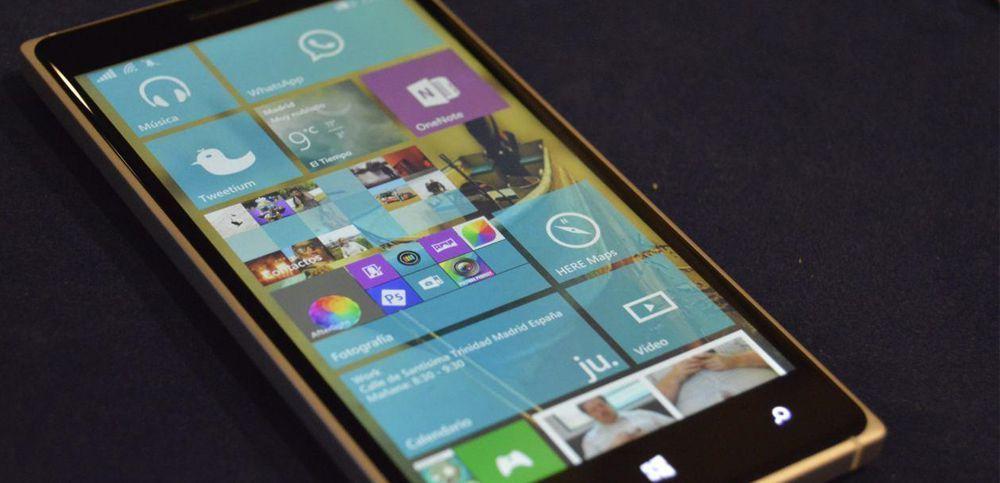 Windows Ten for Smartphone