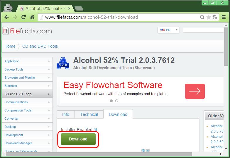 скачать alcohol 52 для windows 8.1 - фото 10