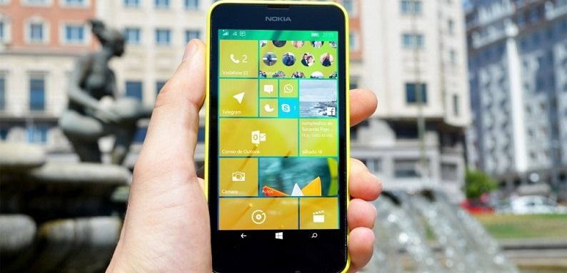 Lumia 635 with Windows 10