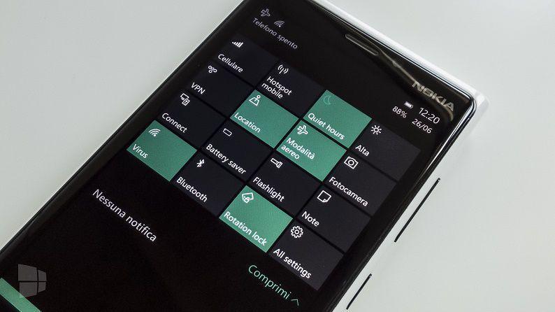 Windows 10 Mobile Build 10166