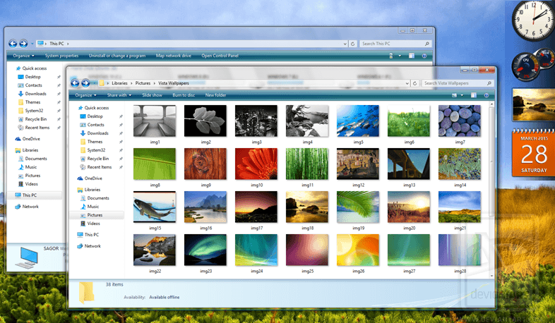 Themes for Windows 10