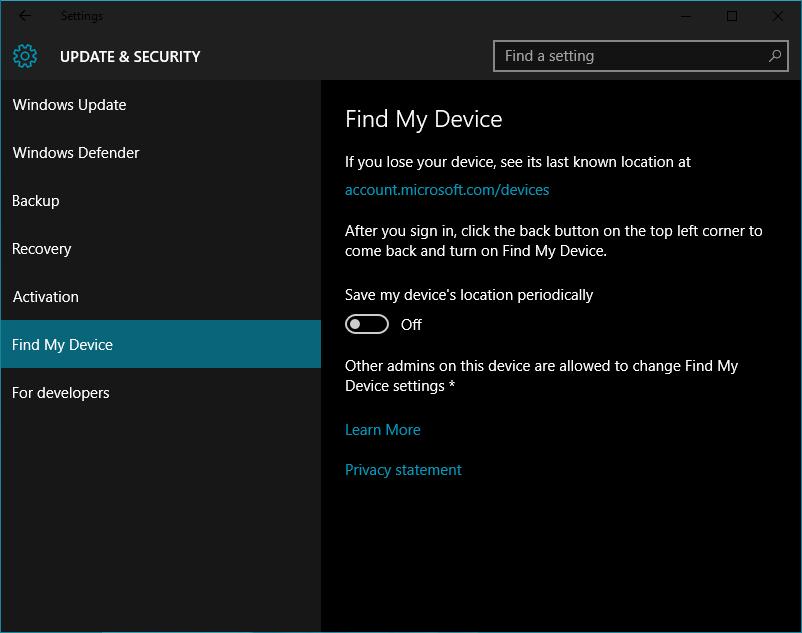 Windows 10 Insider Preview - сборка 10558