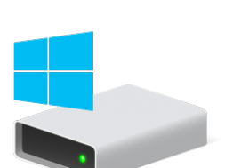 Hard Drive Disk Icon Windows 10
