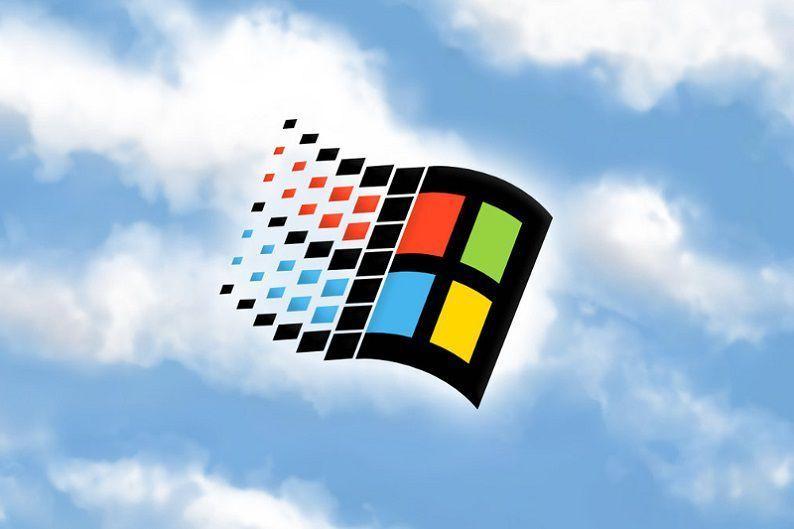 Microsoft Windows 95 Logo