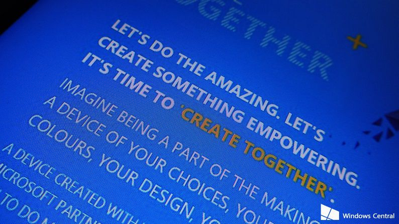Microsoft's Create Together