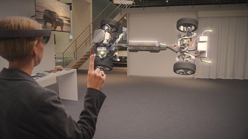 Volvo Cars Microsoft HoloLens experience