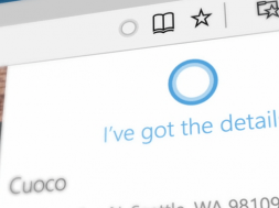 Cortana in Edge Browser