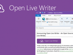 Open Live Writer