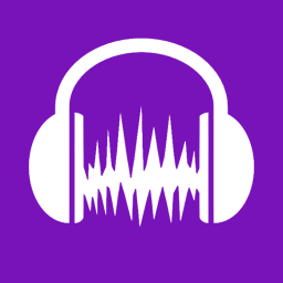Audacity App Metro icon