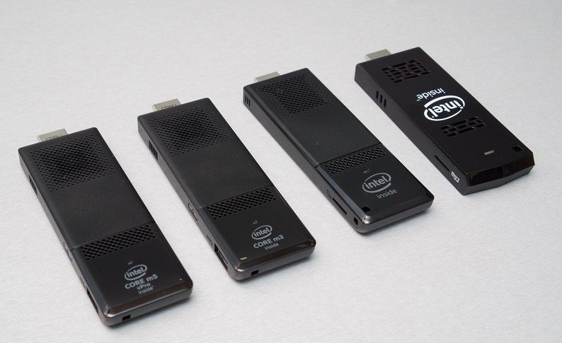 Intel new Atom and Core M Compute Sticks