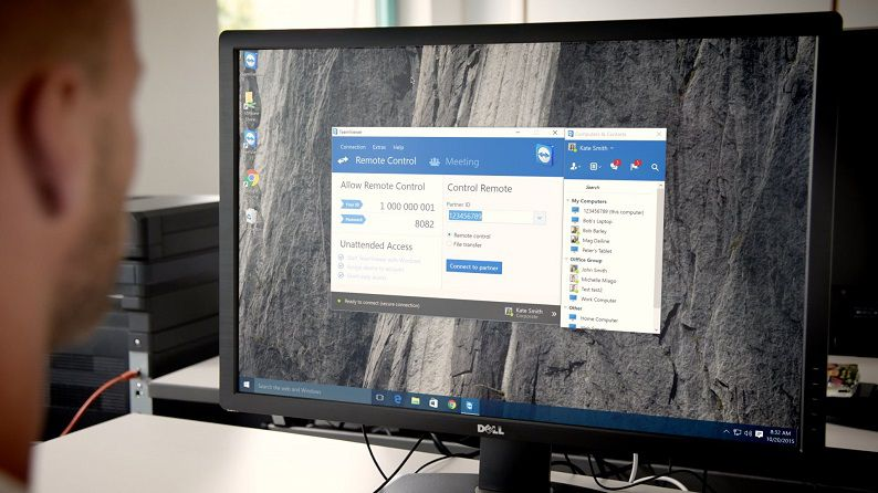 Teamviewer 11 Windows 10 App