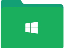 Windows Green Folder