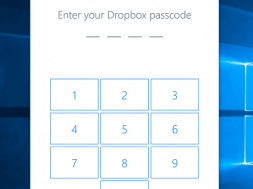 Windows Hello Dropbox