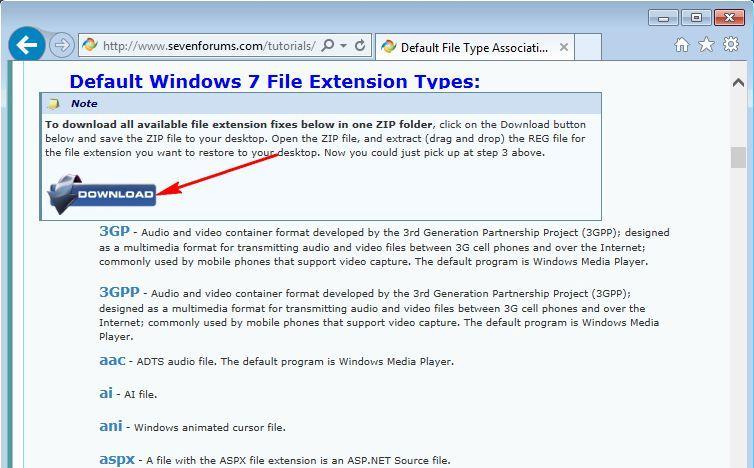 Рег файлы для windows 7 скачать