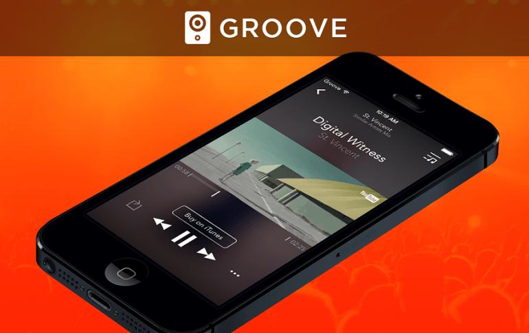Groove iOS app
