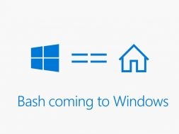 BASH + Windows 10