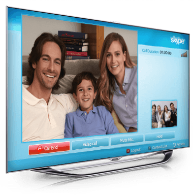 Skype for TV
