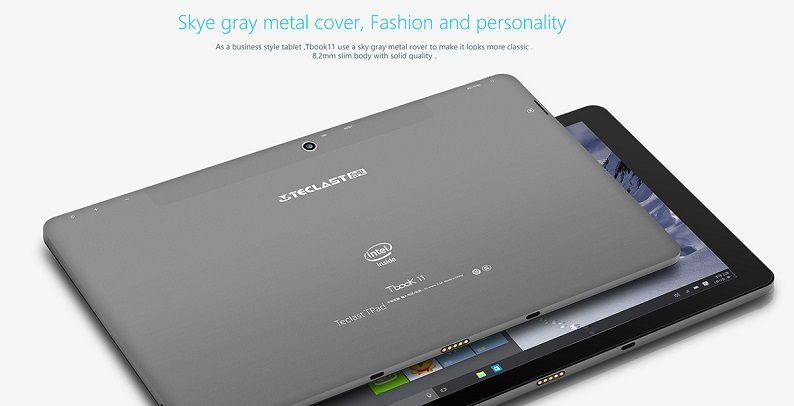Teclast Tbook 11 Back Side