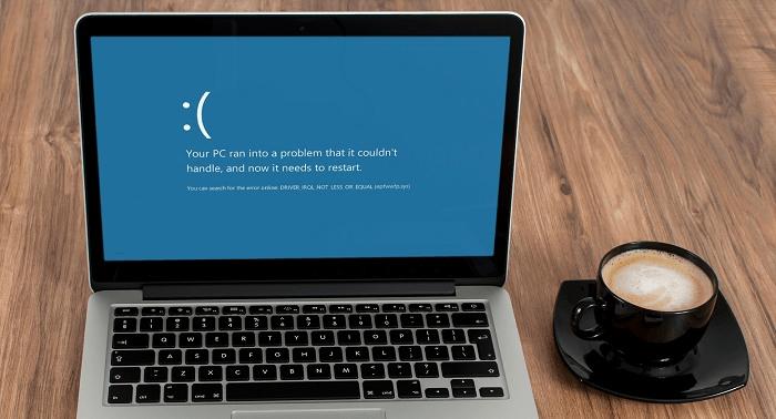 Как исправить ошибку DRIVER IRQL NOT LESS OR EQUAL в Windows 10