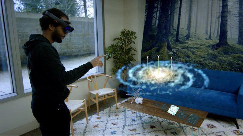 HoloLens Galaxy