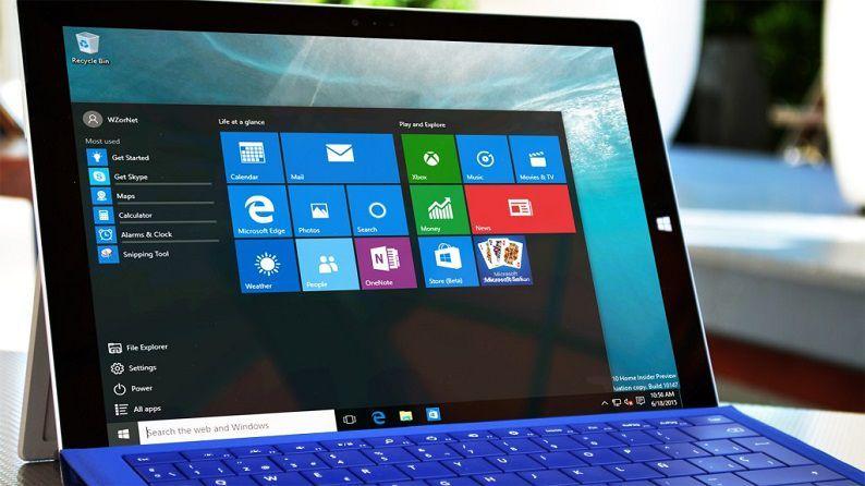 Surface Pro 3 под управлением Windows 10