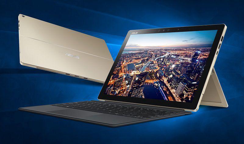 Asus представила новый модельный ряд планшетов Transformer под управлением Windows 10