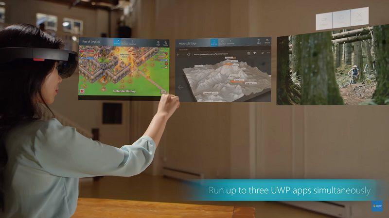 HoloLens получает первое крупное обновление