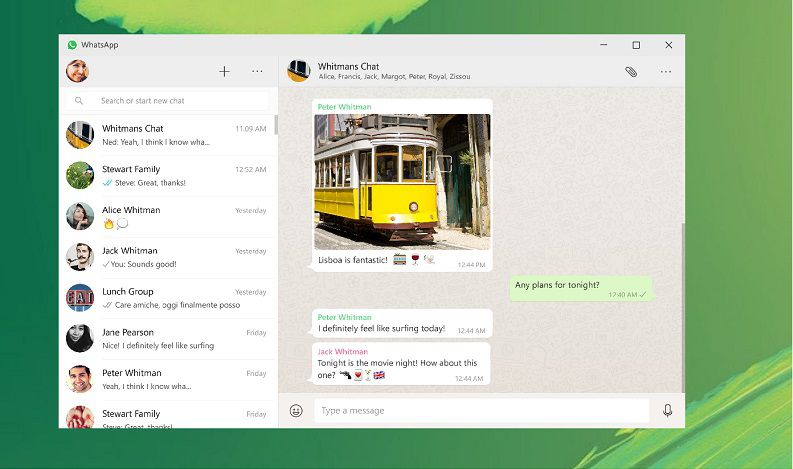 Native Client WhatsApp for Windows