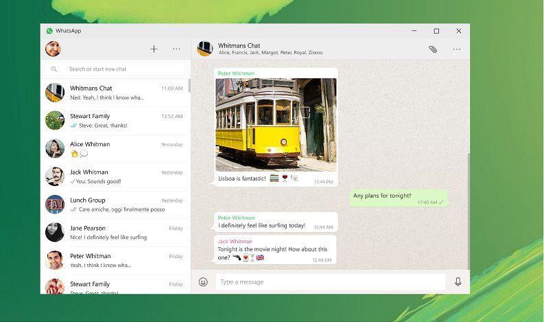 WhatsApp выпустили настольное приложение для Windows 8 и 10