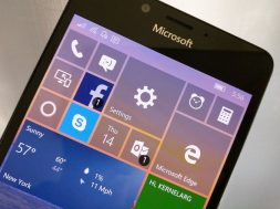 Windows 10 Mobile build 14342