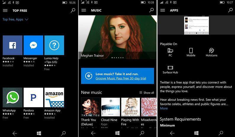 Windows Store New Layout 2