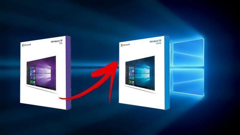 Как понизить редакцию Windows 8.1 или 10